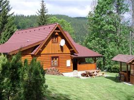 Chalupa Srub u Razuly - ubytování Velké Karlovice
