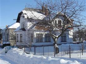 Apartmán v zimě