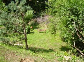 Okolní prostředí chaty