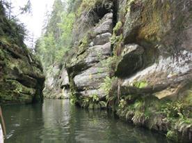 Okolí skýtá krásy národního parku České Svýcarsko