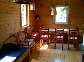 Společenská místnost s jídelnou