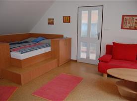 Apartmán č. 3 - lůžka
