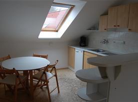 Apartmá č. 2 - vybavená kuchyně