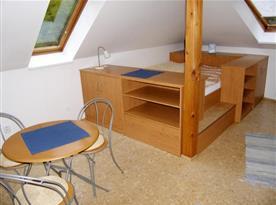 Apartmán č. 1 - obývací pokoj se spacím koutem