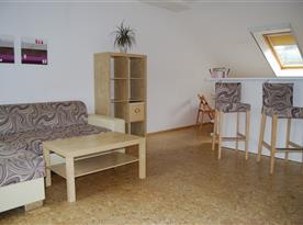 Apartmá č. 2 - obývací pokoj