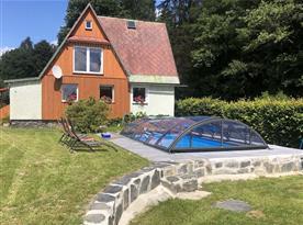 Chata Pod lesem - ubytování  Malá Štáhle