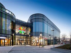 Nový velký shopping park Šantovka, přímo v centru Olomouce