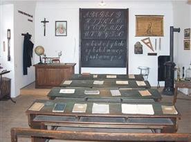 Dobová školní třída, Zámek Přerov a další krásné expozice, stojí za vidění