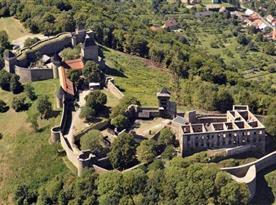 Obrovský a majestátní hrad Helfštýn a lanový zábavní park u hradu
