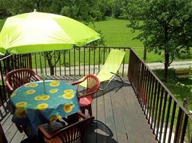 Prostorná a slunná odpočinková terasa, foto 1