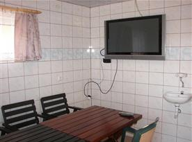 Sklepní místnost s infrasaunou