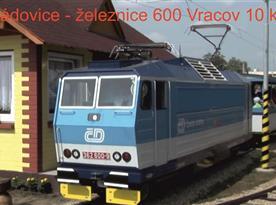 Železnice na zahradě ve Vracově