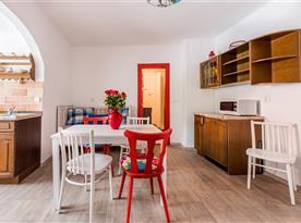 Kuchyně - apartmán č.2