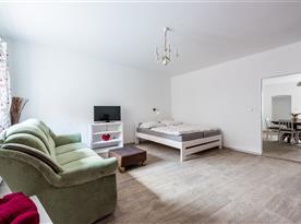 Obývací místnost - apartmán č.1
