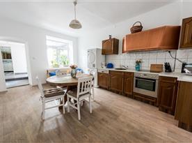 Kuchyně v apartmánu č.1