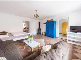 Obývací místnost s lůžky - apartmán č.2