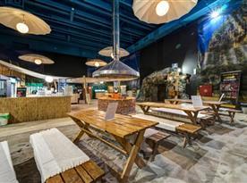 Samoobslužný bar a restaurace