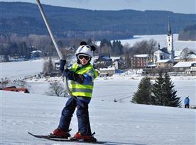 Skiareál Frymburk