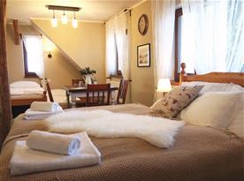 Čtyřlůžkový apartmán FAMILY 202