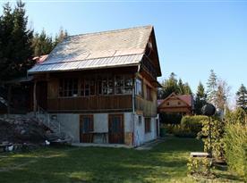 Chata Pastviny - ubytování  Pastviny