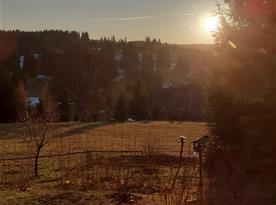 Nádherný západ slunce