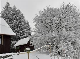 Sněhu je tady dost i koncem roku 2020