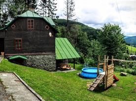 Chata Kouty - ubytování  Loučná nad Desnou