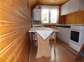 Kuchyň chata 7 lůžková