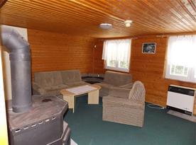 Obývací místnost chata 7 lůžková