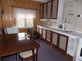 Kuchyň chata 8 lůžková