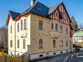 Vila Josefina, Jizerské hory, Artist Retreat Czech, Josefův Důl