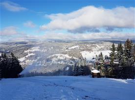Tanvaldský Špičák - lyžování, Vila Josefina