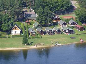 Chata U Slapské přehrady - ubytování  Slapy