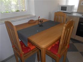 Apartmán II. - jídelní kout