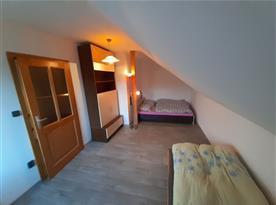 Apartmán Východ - ložnice v podkroví