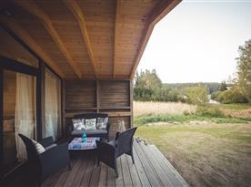 Pohled z terasy do okolí