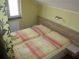 Apartmán C - ložnice v podkroví