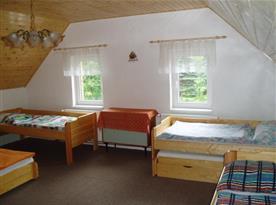 Apartmán A - podkrovní ložnice B