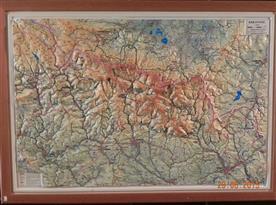 Krkonoše mapa
