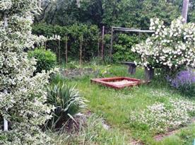 Pískoviště na zahradě