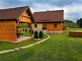 Chalupa Oto - ubytování Horní Olešnice