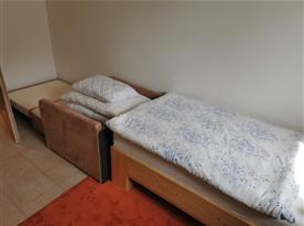 Apartmán v přízemí - ložnice