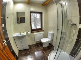 Koupelna v pokoji