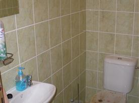 Toaleta v podkroví