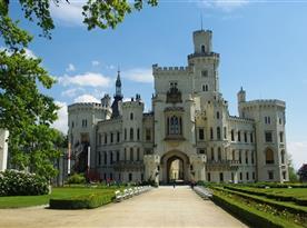 Chalupa U lesa pronájem - zámek Hluboká nad Vltavou