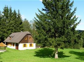 Chalupa Dolní Přibraní - ubytování Pohorská Ves