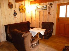 Obývací pokoj chalupy část II.