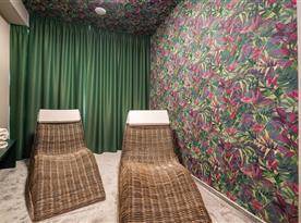 Odpočívárna u sauny