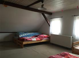Ložnice A v podkroví