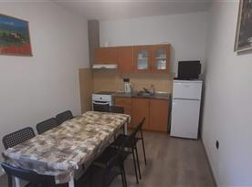 Apartmán I kuchyně